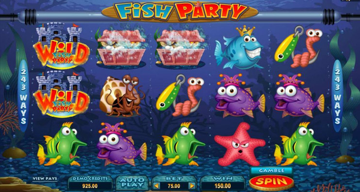 Fish Party Slot Game Review