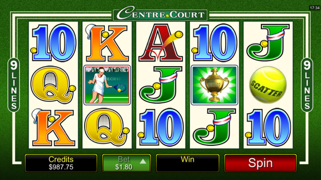 Centre Court Slot Review