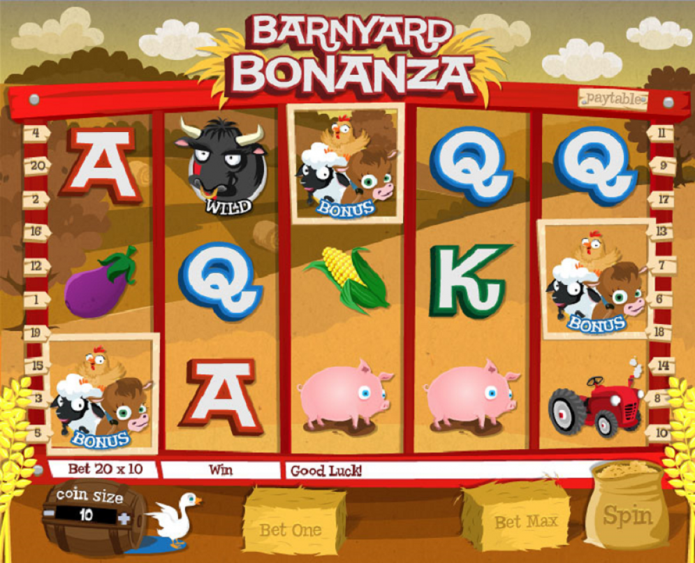 Barnyard Bonanza Slot Review