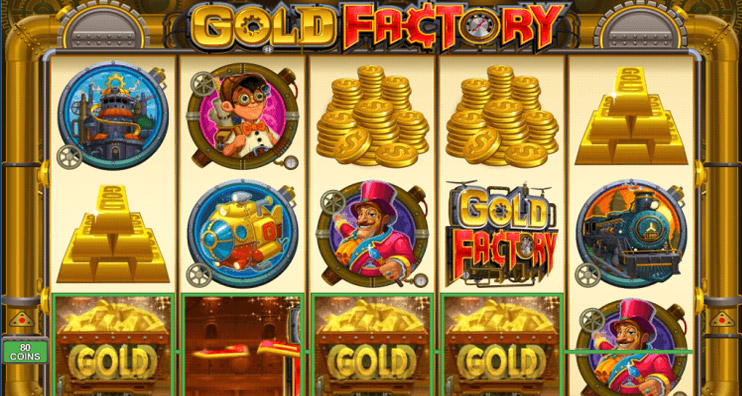 Gold Factory Slot Machine Game Review
