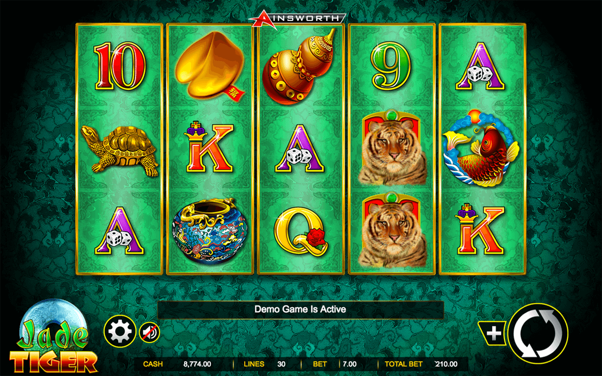 Jade Tiger Slot Review
