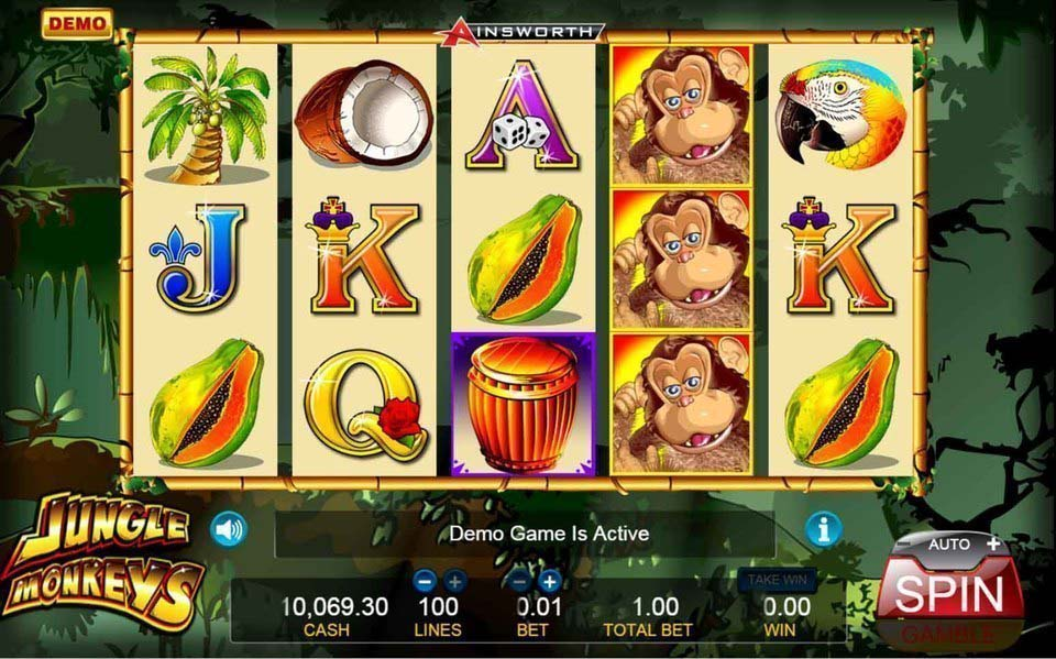 Jungle Monkeys Slot Review
