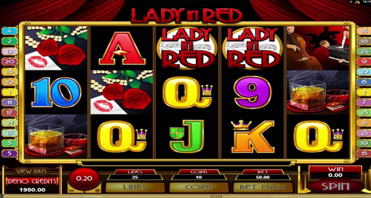Lady in Red Slot Review