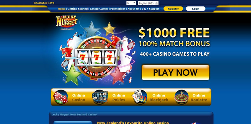 Lucky Nugget Casino Website