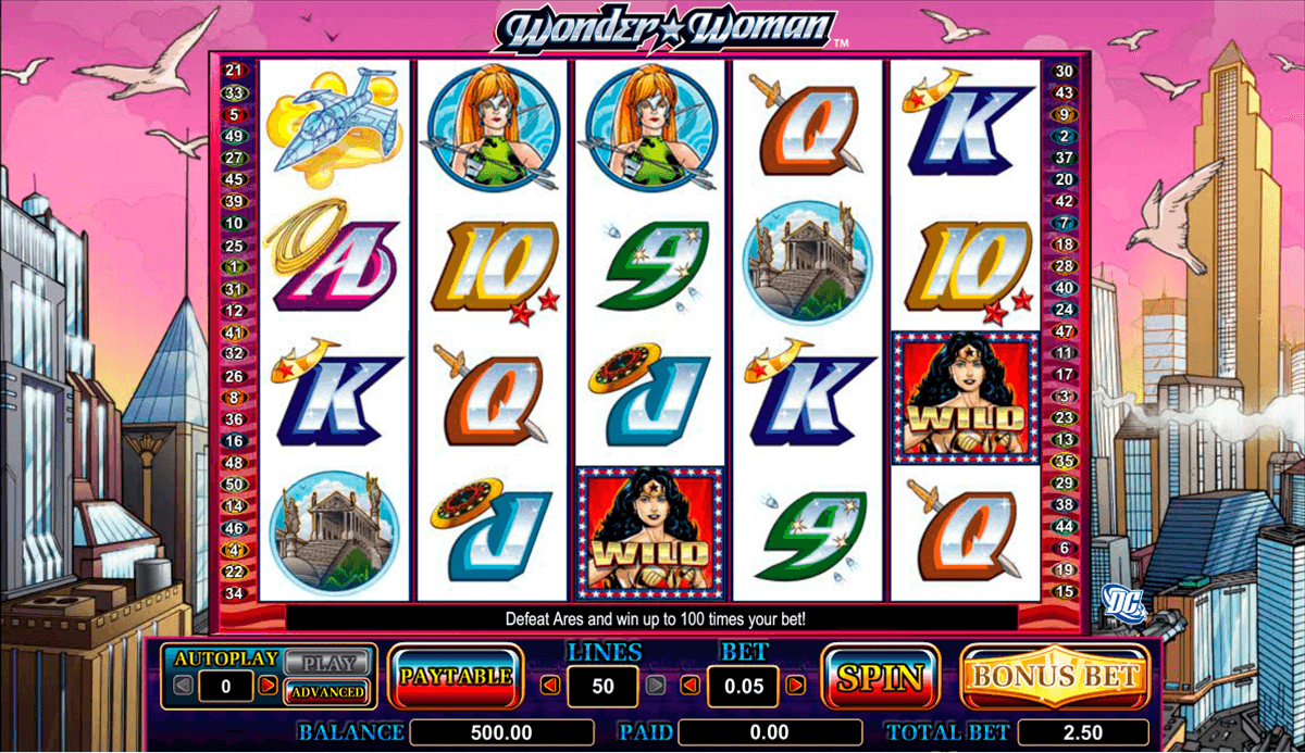 Wonder Woman Slot Review